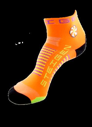 Fluro-Orange-Quarter-Length